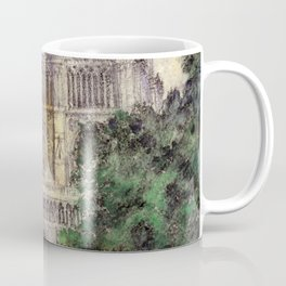 "Cass Gilbert ""Cathedral of Notre Dame, Paris"" (1933) Coffee Mug"