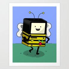 BEE-MO Art Print