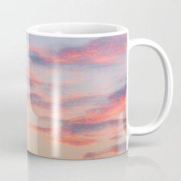 Sunset Burning Clouds Sky Coffee Mug