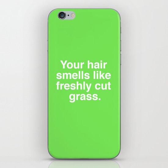 Freshly Cut Grass iPhone & iPod Skin