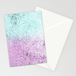 Mermaid Lady Glitter #2 #decor #art #society6 Stationery Cards