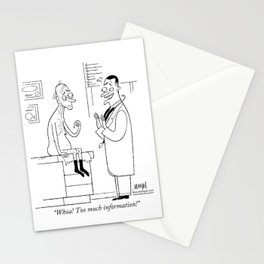 Disgusted Doctor Stationery Cards
