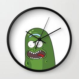 Pickle Rick Pocket! I'm Pickle Riiiiiiiick! Wall Clock