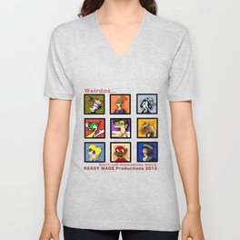Ready Made Productions Promo Poster 2015 Unisex V-Neck