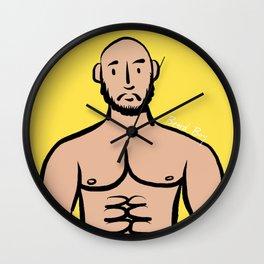 Beard Boy: Isreal Wall Clock