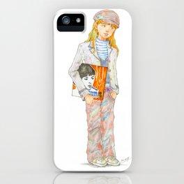 Indie Pop Girl vol.1 iPhone Case