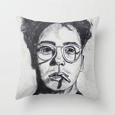 Robert Downey Jr. Throw Pillow