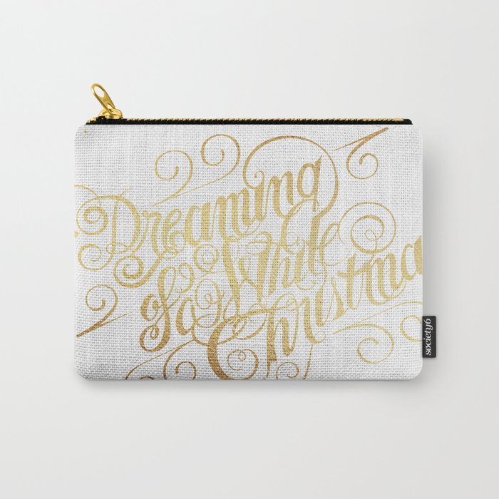 Dreaming of a White Christmas Carry-All Pouch