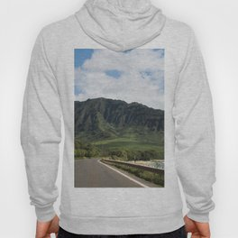 Mountain Road in Oahu, Hawaii Hoody
