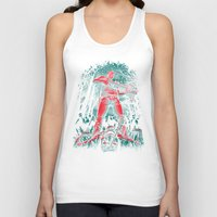 hunter Tank Tops featuring Hunter by Fuacka