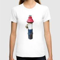 patriotic T-shirts featuring Patriotic Hydrant by Cwilwol