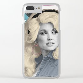 Americana Dolly Clear iPhone Case