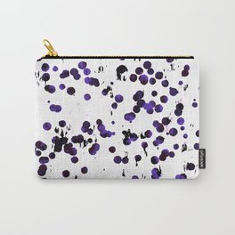 Violet confetti Carry-All Pouch