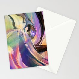 Fractured Aura 1 Stationery Cards