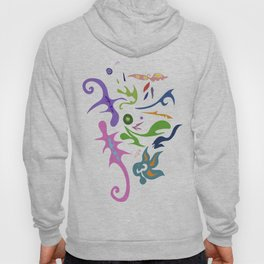 My pieces of invisible worlds Hoody