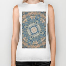 modern and abstract background Biker Tank