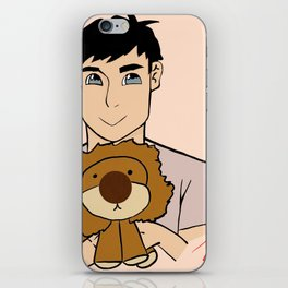 AmazingPhil with a lion plushy(Unoffical) iPhone Skin