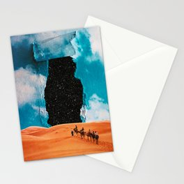 False Sky Stationery Cards