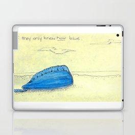 Wistful Bluebottle Laptop & iPad Skin