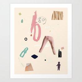 PAPER PLATE Art Print
