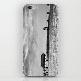 Couple on Cleethorpes Beach iPhone Skin