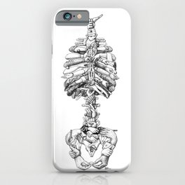 Handle with Care iPhone Case