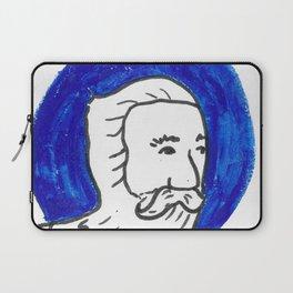 The Blue Man Laptop Sleeve