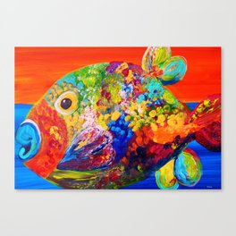 Deviously Dappled Canvas Print