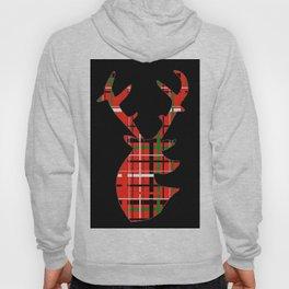 Plaid Xmas Deer Hoody