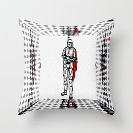 Galactic Warrior 2 Throw Pillow
