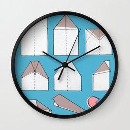 Paper Planes Make Broken Hearts Wall Clock