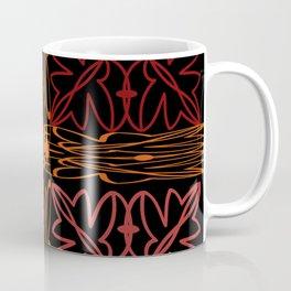 Teal Motif Coffee Mug