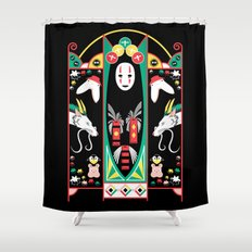 Spirited Deco Shower Curtain