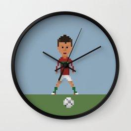 Ronaldo Free kick (Portugal) Wall Clock