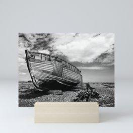 The Clinker Fishing Boat Mini Art Print
