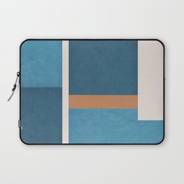 Intercepts, Geometric Forms Shapes Laptop Sleeve