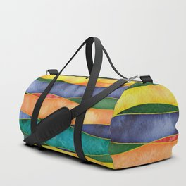 Fall Colors - Yellow Duffle Bag