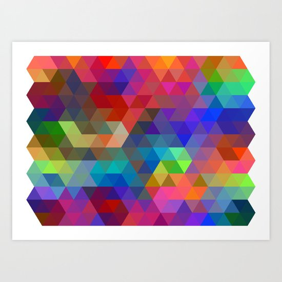 Tri Force Art Print