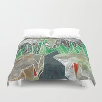 twilight Duvet Covers featuring Twilight by Fitz Farm
