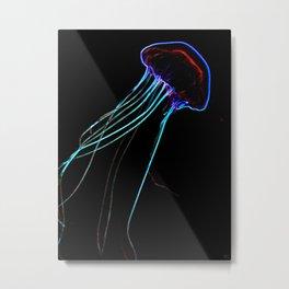 Flow In The Dark II Metal Print