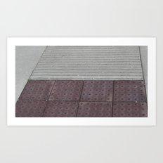 Cement Ramp Art Print