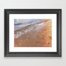 Boats Against the Current Framed Art Print