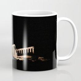 Cape Sounio at night Coffee Mug