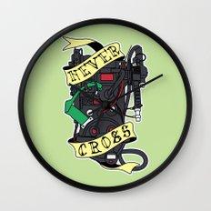 Never Cross Wall Clock