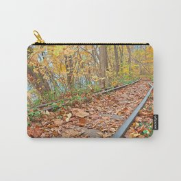 Abandoned Autumn Railroad Carry-All Pouch