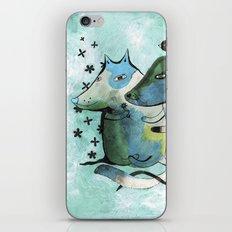 Bartukas friend iPhone & iPod Skin