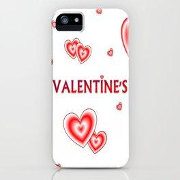 happy valentin's day iPhone Case