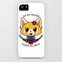 Fight Like A Girl. iPhone Case