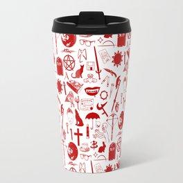 Buffy Symbology, Red Travel Mug