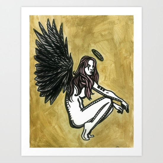 The Initial Appearance of Nephilim Art Print